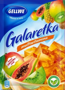 Galaretka multiwitaminowa Gellwe