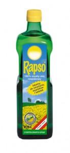 Ekologiczny olej rzepakowy Rapso
