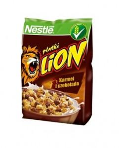 Płatki Nestle Lion