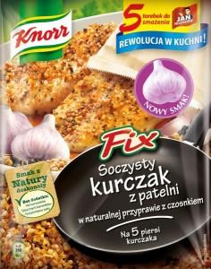 Fix Knorr Soczysty Kurczak z patelni w naturalnej przyprawie z czosnkiem