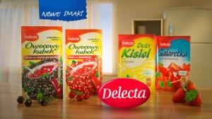 Delecta Owocowy Kubek - kampania reklamowa