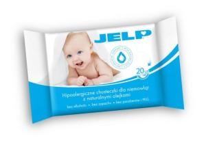 JELP - Hipoalergiczne chusteczki dla niemowląt