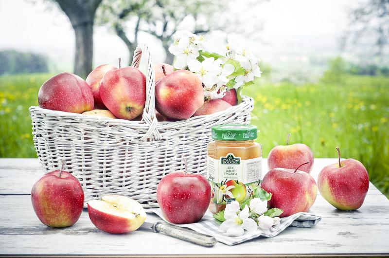 Dżem jabłko z wanilią