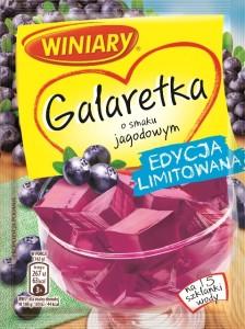 Galaretka o smaku jagodowym WINIARY