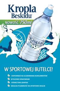 Kropla Beskidu 0,75l Sport