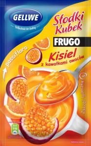 Słodki Kubek o smaku pomarańczowego FRUGO Gellwe