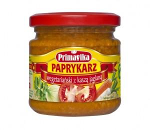 Paprykarz wegetariański z kaszą jaglaną Primavika