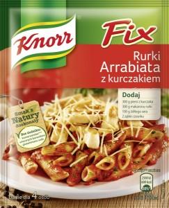 Fix Knorr Rurki Arrabiata z kurczakiem