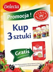 Plakat Delecta i Cukier Krolewski