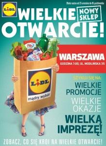 Lidl Warszawa Modlińska