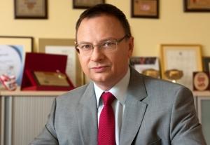 Na zdjęciu: Prezes Fabryki Cukierków Pszczółka - Pan Marek Spuz vel Szpos