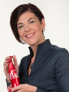 Na zdjęciu: Marit Kroon - Senior Still Activation Manager Coca-Cola